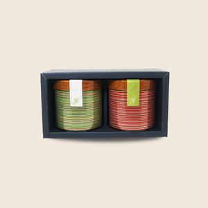 キャニスター缶セット (光緑100g×2本)