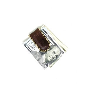 cross stitch money clip | クロスステッチマネークリップ