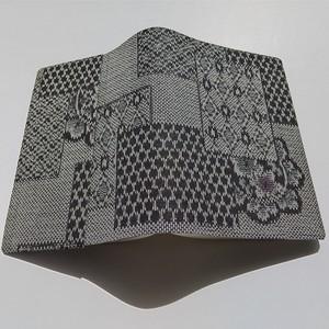文庫本【大・ハヤカワ対応】セパレート式ブックカバー(絹・紬)hb088h
