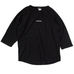 For All House Lovers ラグランシャツ ブラック