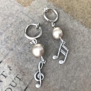 Play the Music:pierce & earring