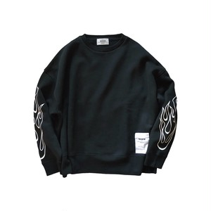 FIRE SWEAT [BLACK]