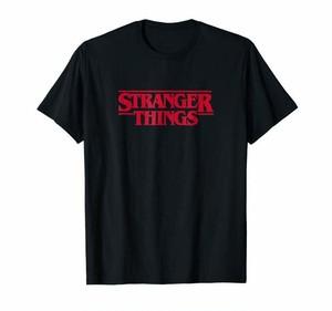 Tシャツ ストレンジャーシングス ロゴ