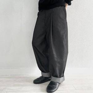 【オーダー受付】Tapered-Pants  (black/denim)