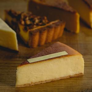 【予約 / Xmasケーキ同梱用】カット:プレーンなベイクチーズ