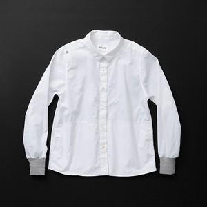 レディス pockets 白×灰