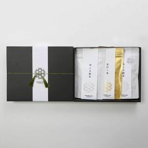 <贈答用・ご家庭用>  プレミアム嬉野茶3袋入りセット【特上玉緑茶、釜炒り茶、特上玉緑茶 (ティーパック入り) 】