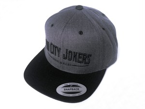 SCJ Originales Snapback 【Black×Charcoal Heather (ブラック×チャコールヘザー)】