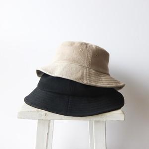 石田製帽 - 備後デニムサファリハット - Beige / Black
