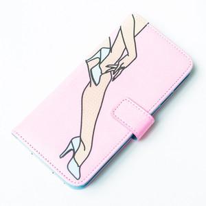 NaNa-NaNa×GIZA High Heels /iPhone 6s. 6 CASE-pink-