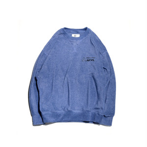 O- FLEECE SWEAT SHIRT Blueberry