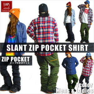 SLANT POCKET SHIRT bp-60