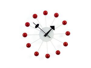 【Vitra Design Museum】Ball Clock 【Red】