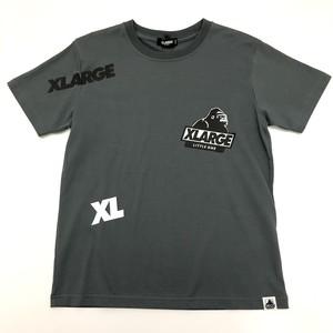 XLARGE エックスラージ 抗菌防臭 ロゴランダムTシャツ  9411213-43