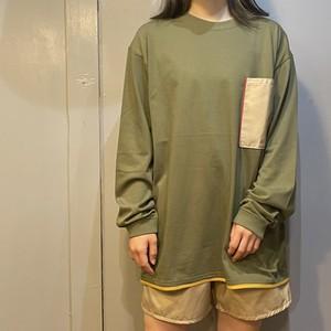 【KAHO】ロングTシャツ