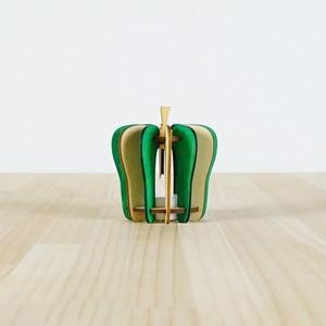 「ピーマン」木製ミニランプ