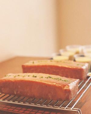 ウィークエンド(焦がしバターとレモンのケーキ)