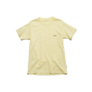 """SPICE COLOR TEE """"FRUIT"""" - YELLOW"""
