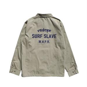 【SURF SLAVE COACH JKT】beige