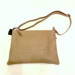 Io Pelle Shoulder & Clutch 2 Way Bag Acacia