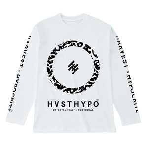 【HYPOCRITE】  HARVEST x HYPOCRITE 【HVSTHYPO】LONGSLEEVE TEE WHT