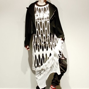 "『Dr.NOKI』 ""cut and slash"" dress"