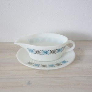 Gravy boat & base