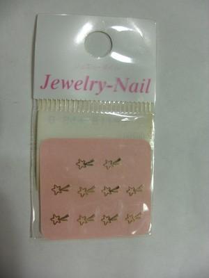 Jewelry Nail プリティネイル 星Sゴールド