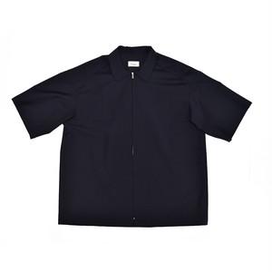"Lownn ""Iver"" Zip shirt Navy LOW-19SS-ZPS"