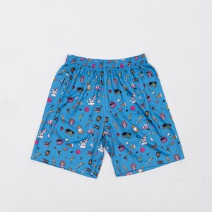 CRATE×Toyameg MeshPants Blue