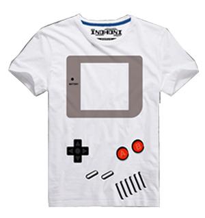 ゲームボーイ風Tシャツ