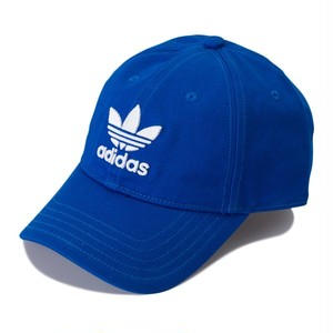 (アディダス オリジナルス) adidas Originals BK7271 TREFOIL STRAP BACK CLOSURE CAP ストラップバッククロージャー ユニセックス BLUE