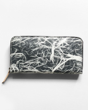 Round Long Wallet MARBLE