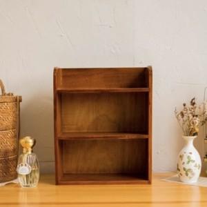 wood mini shelf A / アンティーク調 レトロ ウッド ミニ シェルフ 収納 陳列 棚 韓国 北欧 雑貨