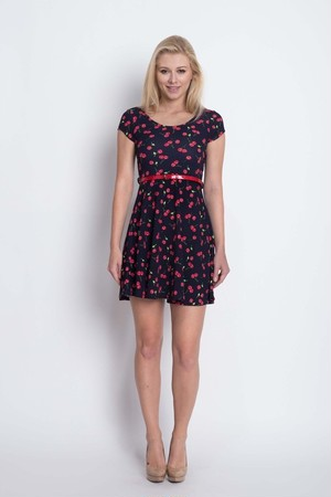 cherry Mini Dress(Ladys)