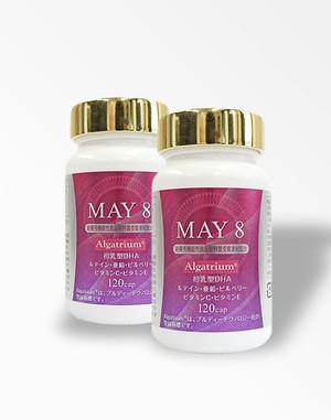 <送料無料>2個セット 高含有DHA MAY8 アルガトリウムサプリメント