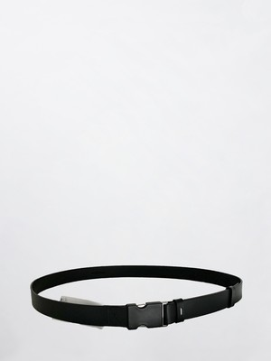 MAISON MARGIELA Leather Belt Black S35TP0459