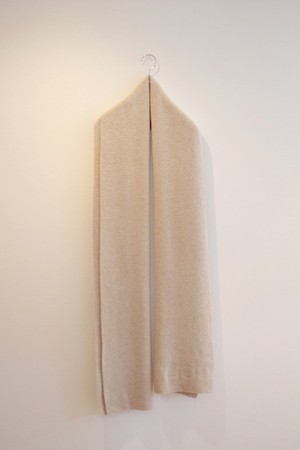 COLTESSE / KNIT SCARF[LIGHT BEIGE]