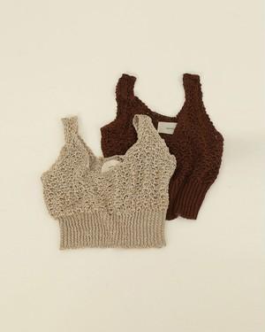 TODAYFUL トゥデイフル Linen Knit Bustier 12010525