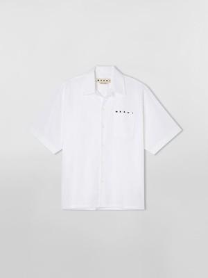 【MARNI】《21SS》コットンボウリングシャツ CUMU0202P0S53663