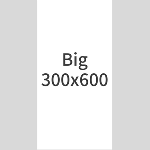 【Bigバナー】300x600px ○○チーム