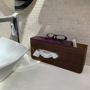 tissue&U 小物収納付きティッシュケース yamatojapan