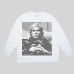 MARSHMALLOW FABRIC LONG SLEEVE  / ANDY WARHOL <THE INTERNATIONAL IMAGES COLLECTION>