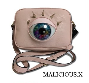 eye shoulder bag / pink