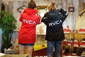 RVCA ナイロンパーカー ¥9500+tax