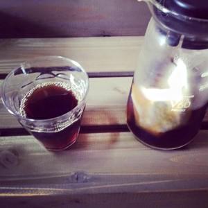 水出しカフェインレスコーヒー