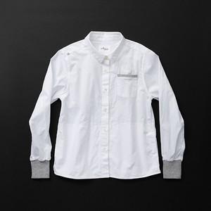 レディス pockets 白×灰+P