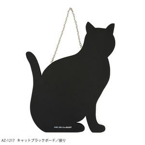 猫黒板(キャットブラックボード)座り