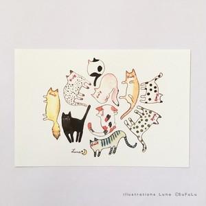 L*ketch Book ポストカード Cat