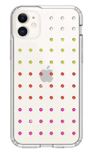 Bling My Thing MINI EXTRAVAGANZA for iPhone11 (NEON GRADATION×CLEAR)